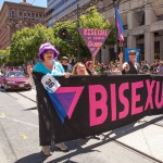 Bisexual contingent at San Francisco Pride Parade