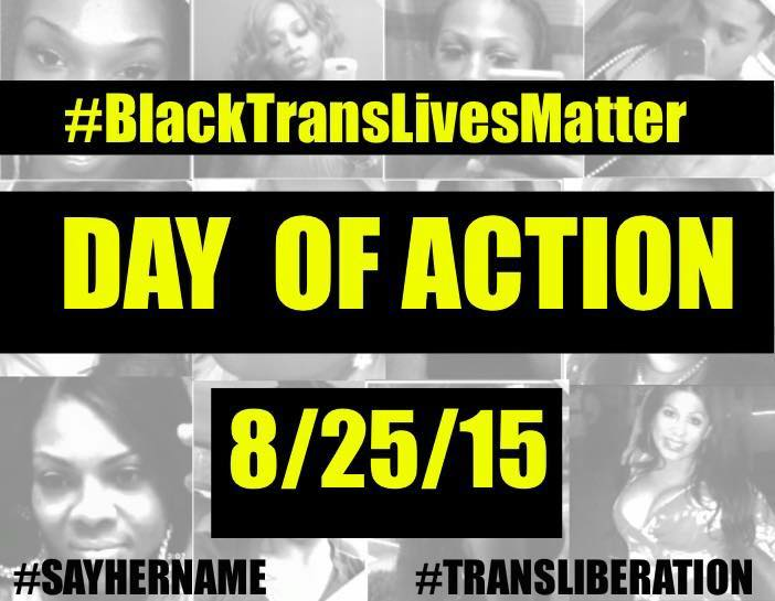 BlackTransLivesMatter Day of Action