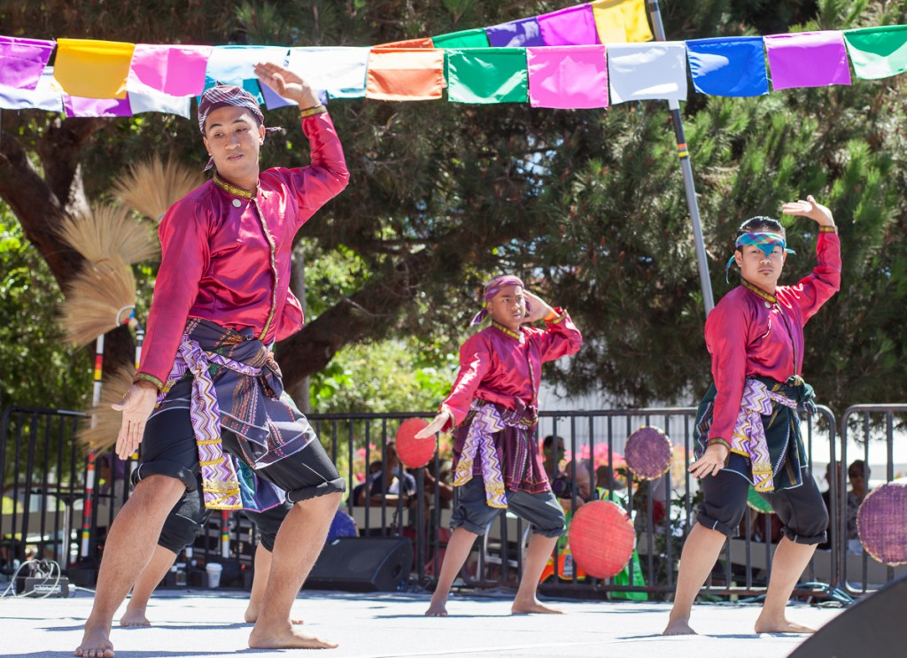 Little Manila Dance Collective at the Pistahan Festival