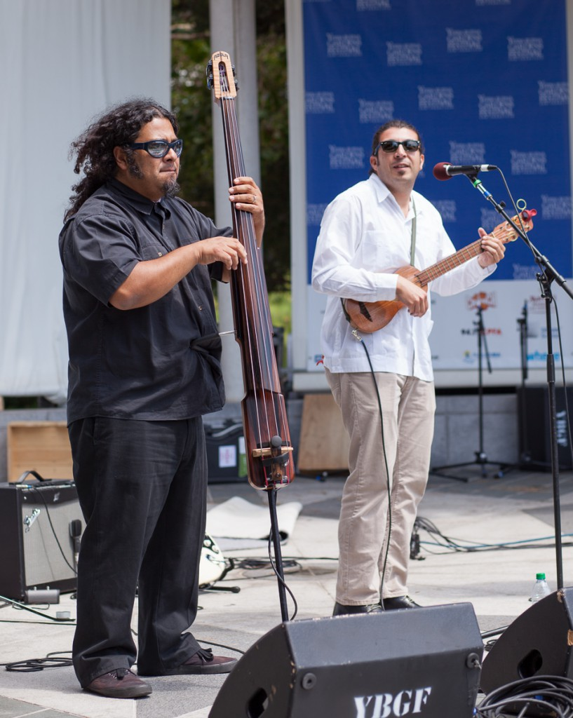 Cambalache at the Yerba Buena Music Festival