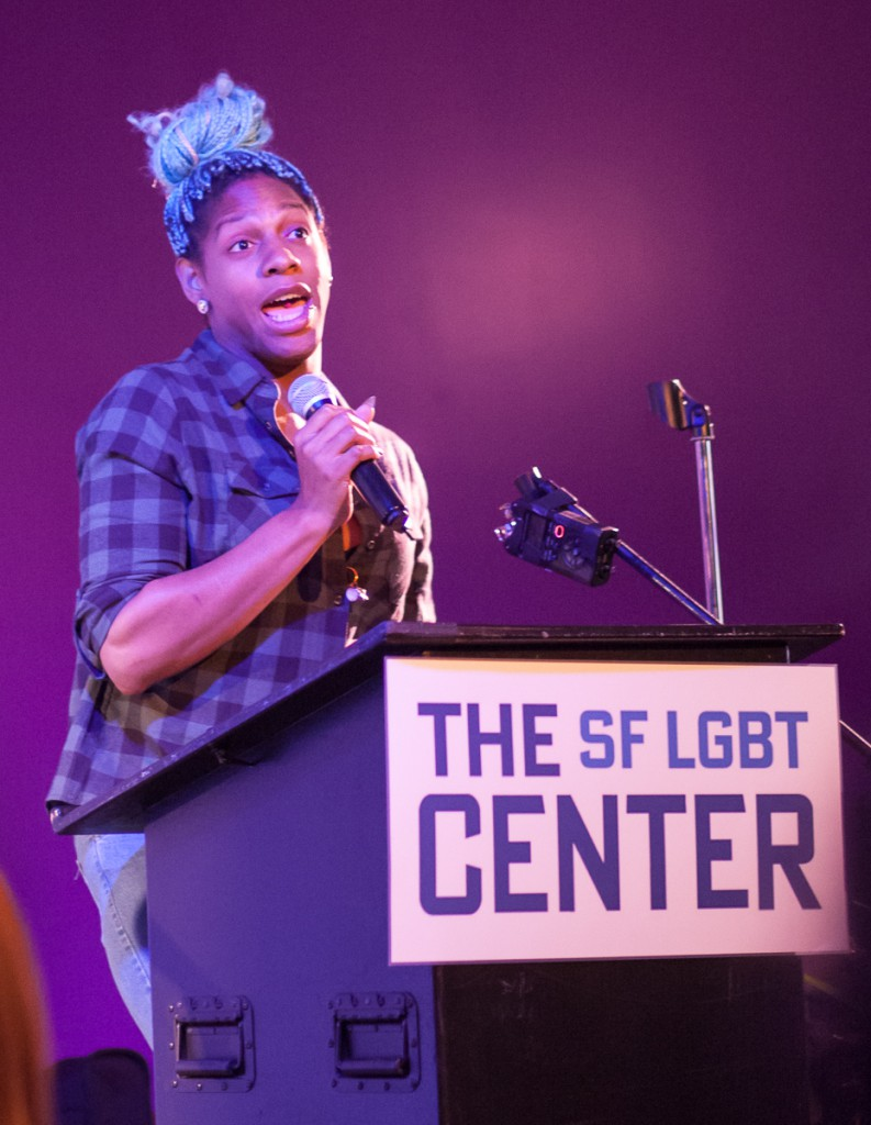 CeCe McDonald at TDoR SF
