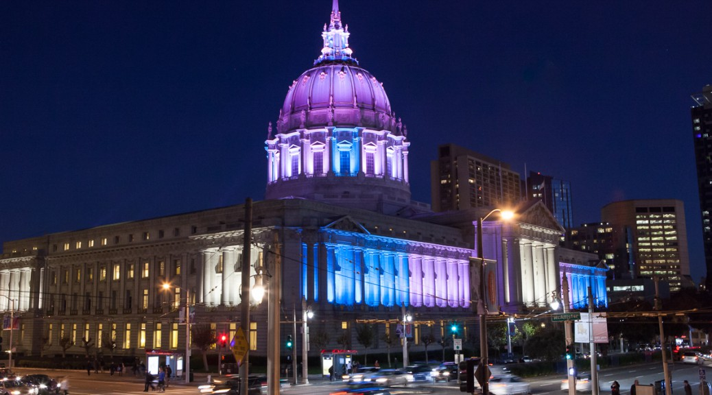 San Francisco City Hall on TDoR