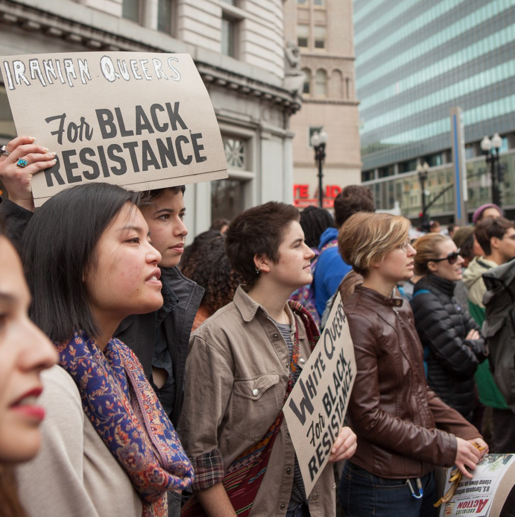 Queers for black resistance