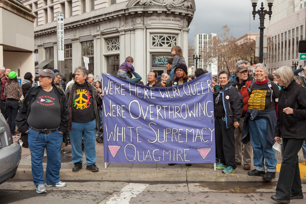 Queers overthrowing white supremacy