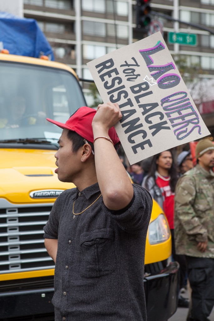 Lao queers for black resistance