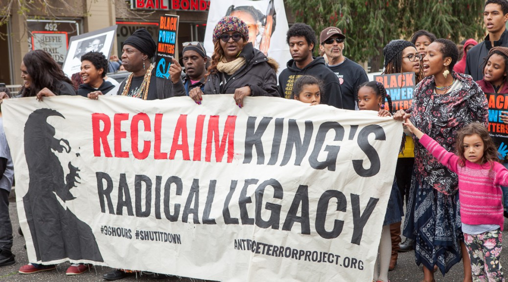 ReclaimMLK march in Oakland