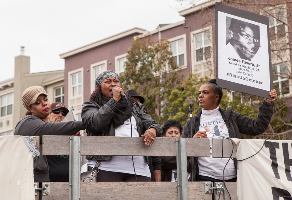Mothers speaking out against police violence
