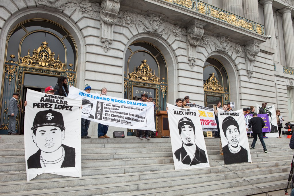 Rally against police violence