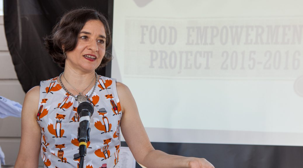 lauren Ornelas, Food Empowerment Project