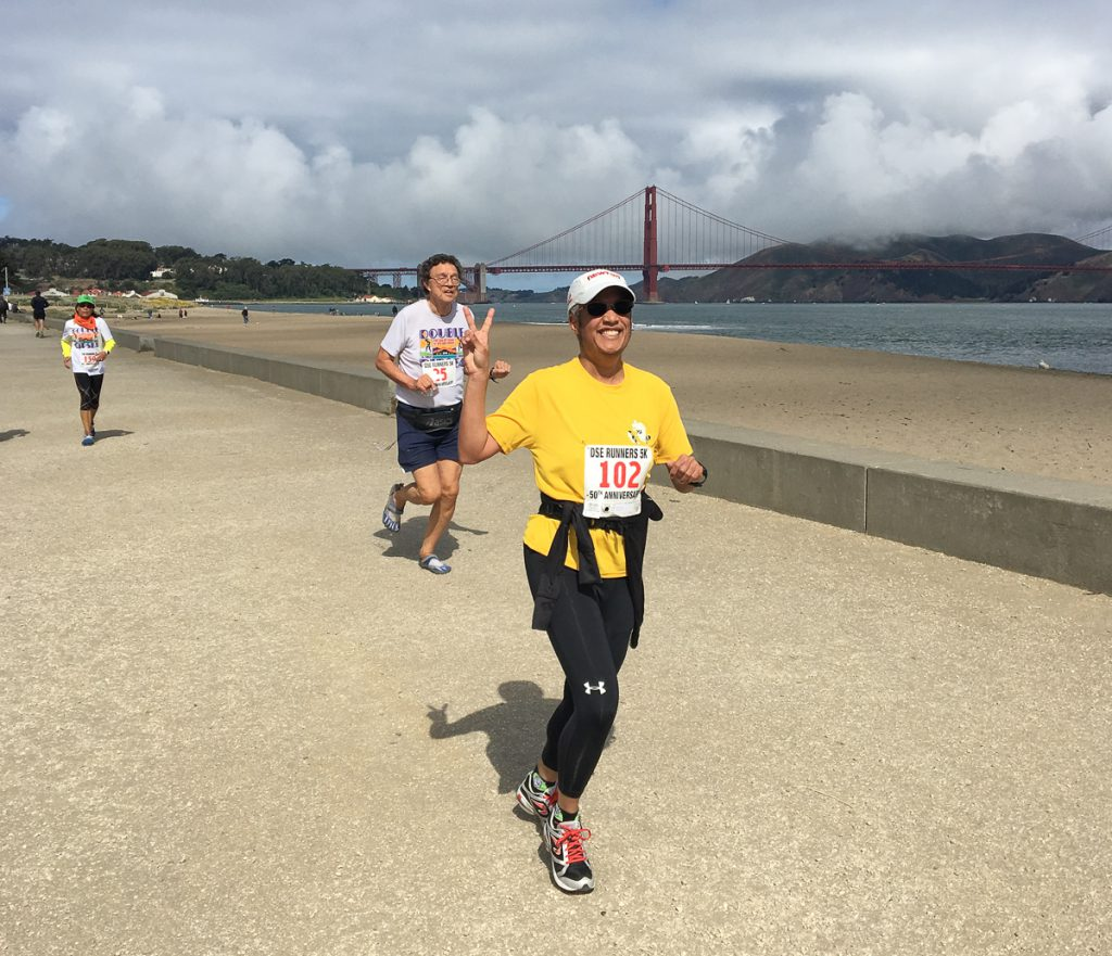 Pax running at Crissy Field