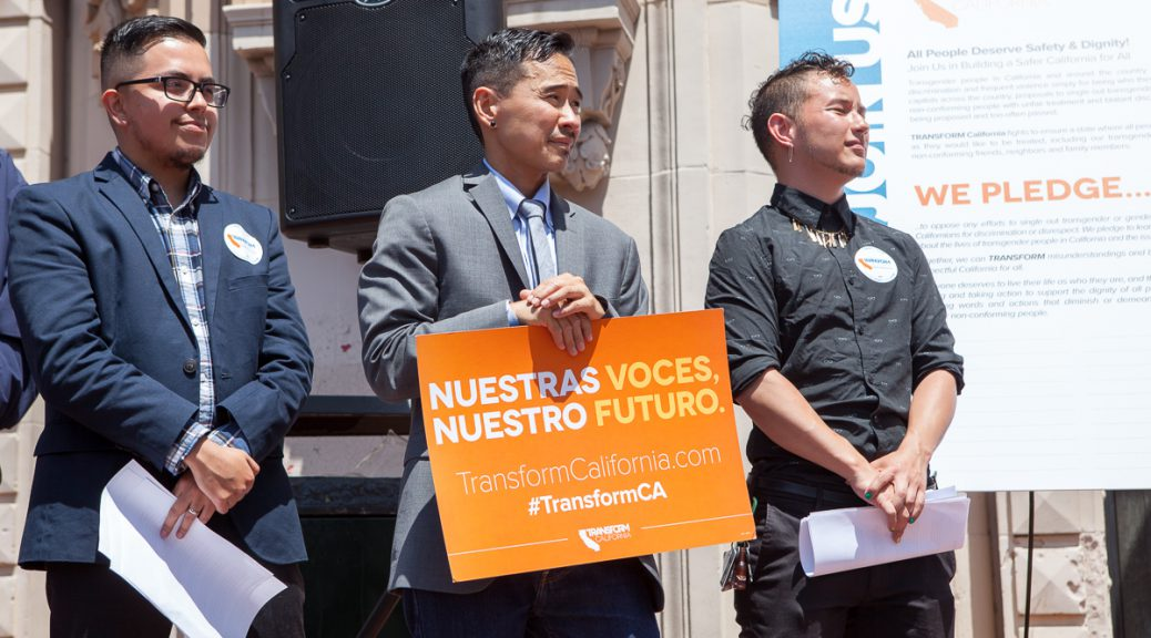 Transform California activists