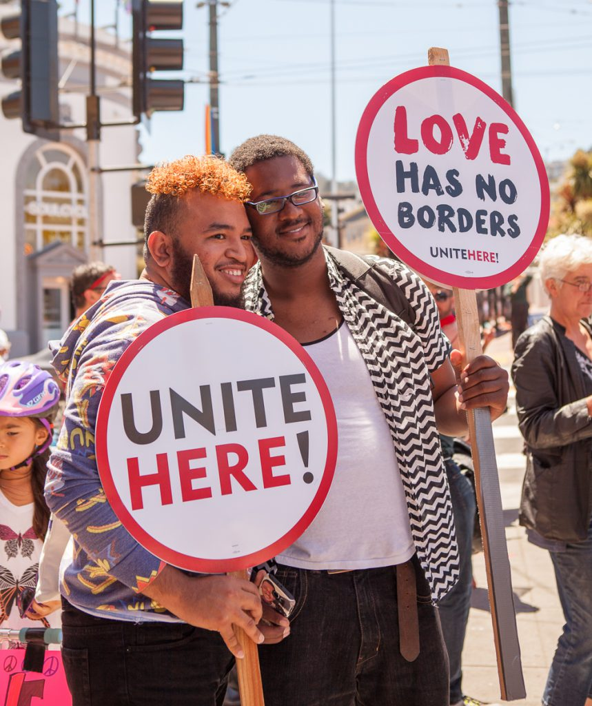 Unite Here! Love has no borders