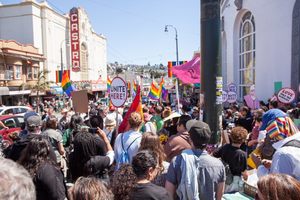 March in the Castro