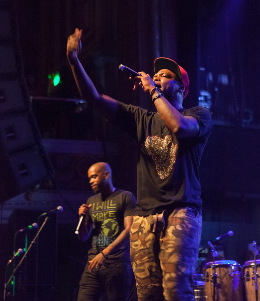 Dead Prez at Rock Against the TPP
