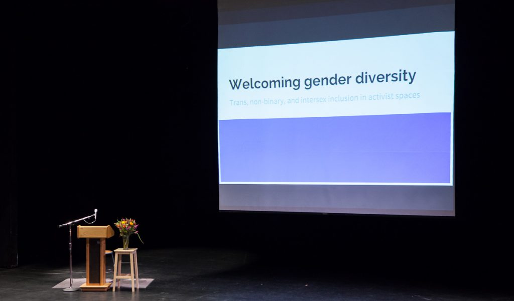 Welcoming gender diversity