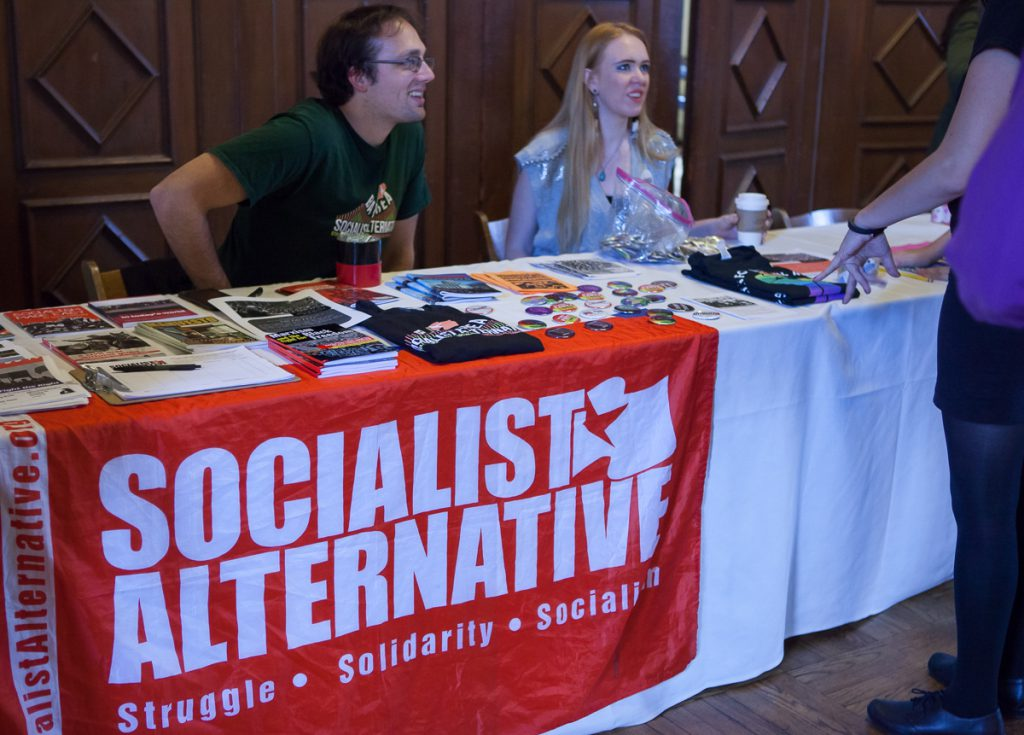 Socialist Alternative at Jill Stein rally