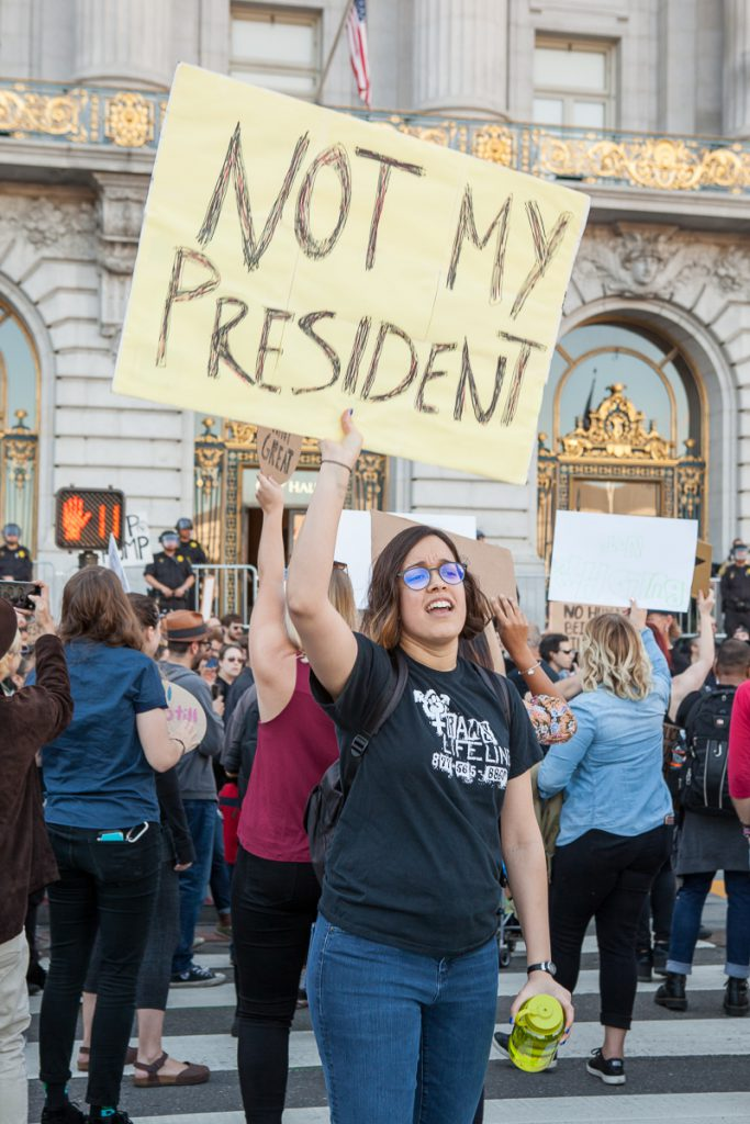Trump protest - Not My President