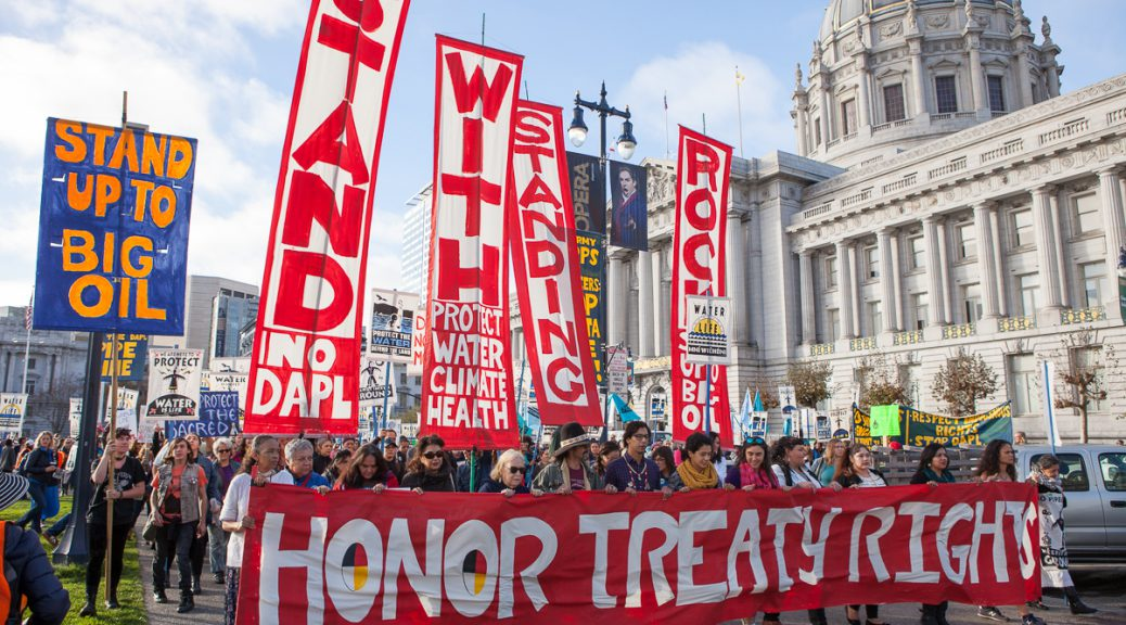 Stand with Standing Rock - SF