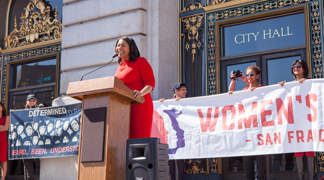 London Breed at Day Without a Woman