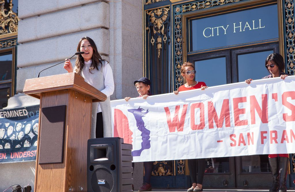 Katy Tang at Day Without a Woman