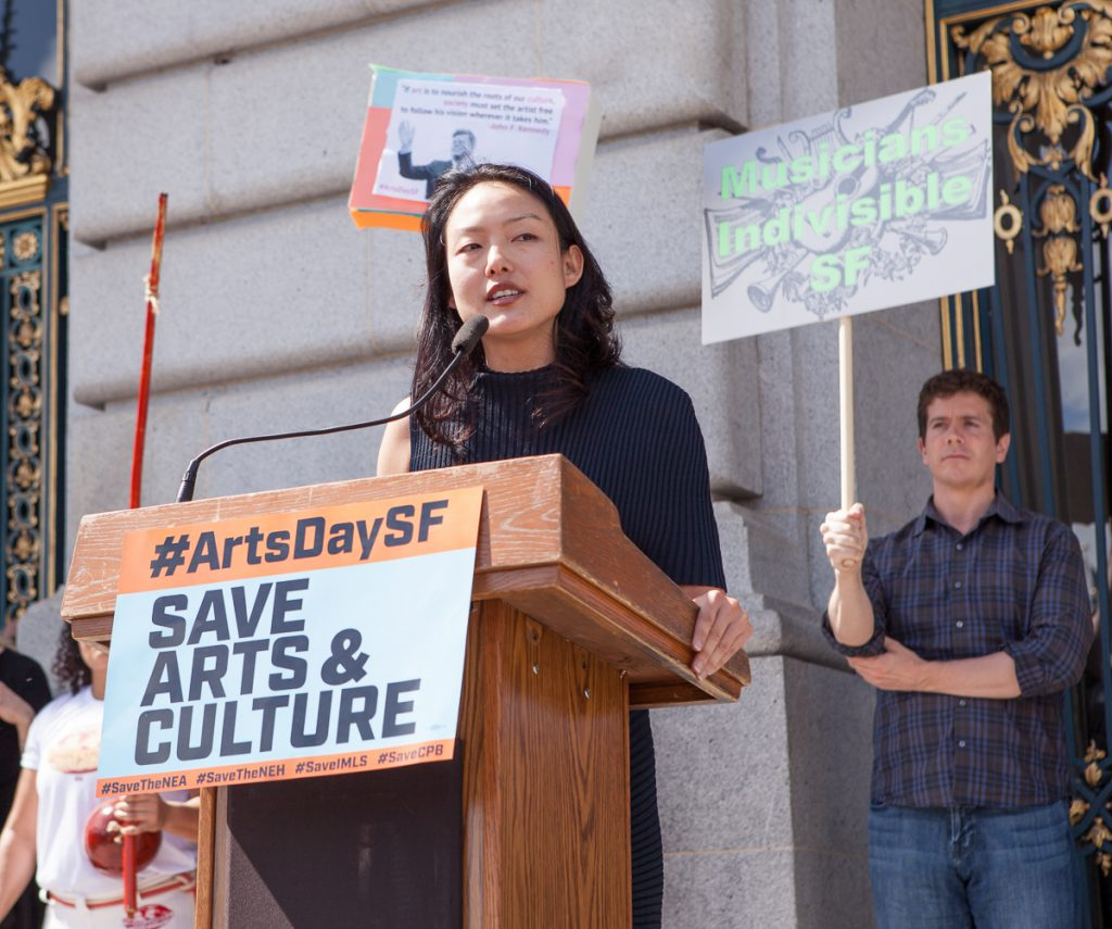 Jane Kim at SF Arts Advocacy Day