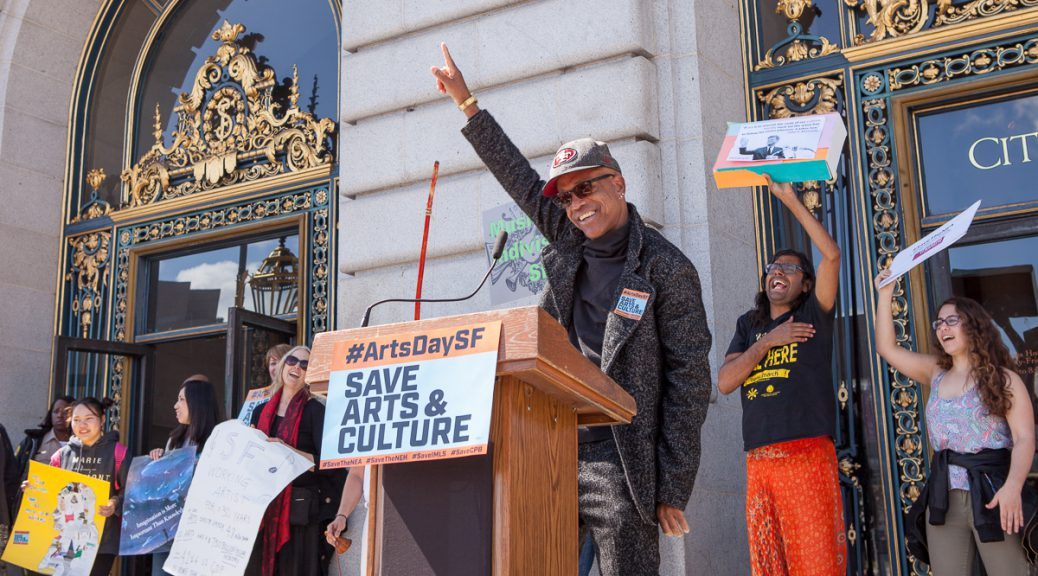 Idris Ackamoor at SF Arts Advocacy Day