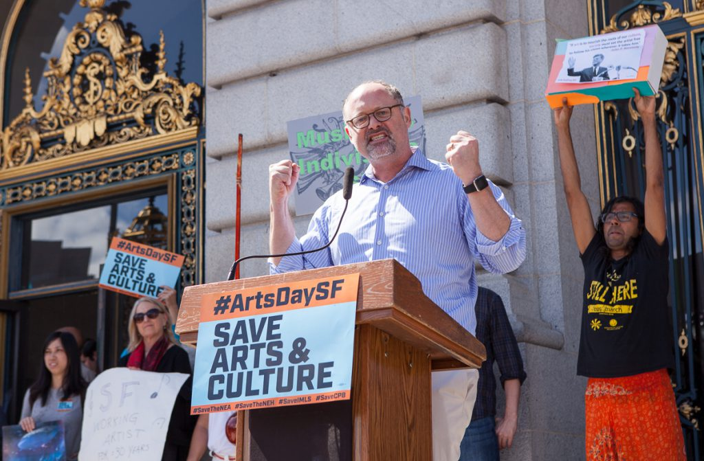 Jonathan Moscone at SF Arts Advocacy Day