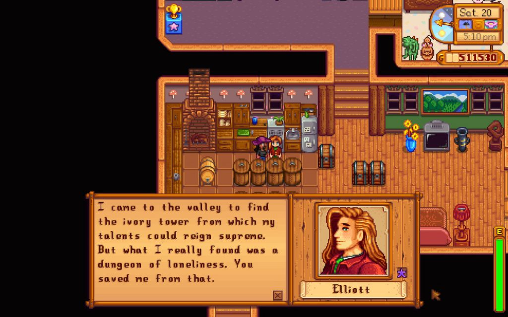 Stardew Valley - Elliott