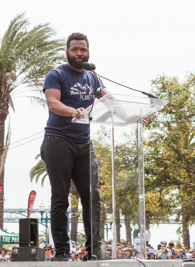 Baratunde Thurston at March for Science