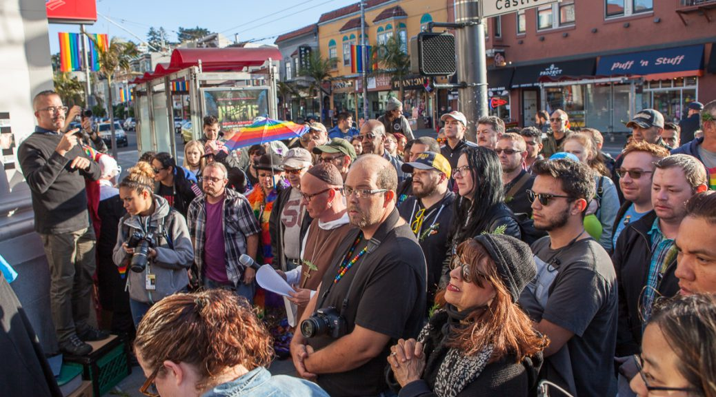 Vigil in the Castro