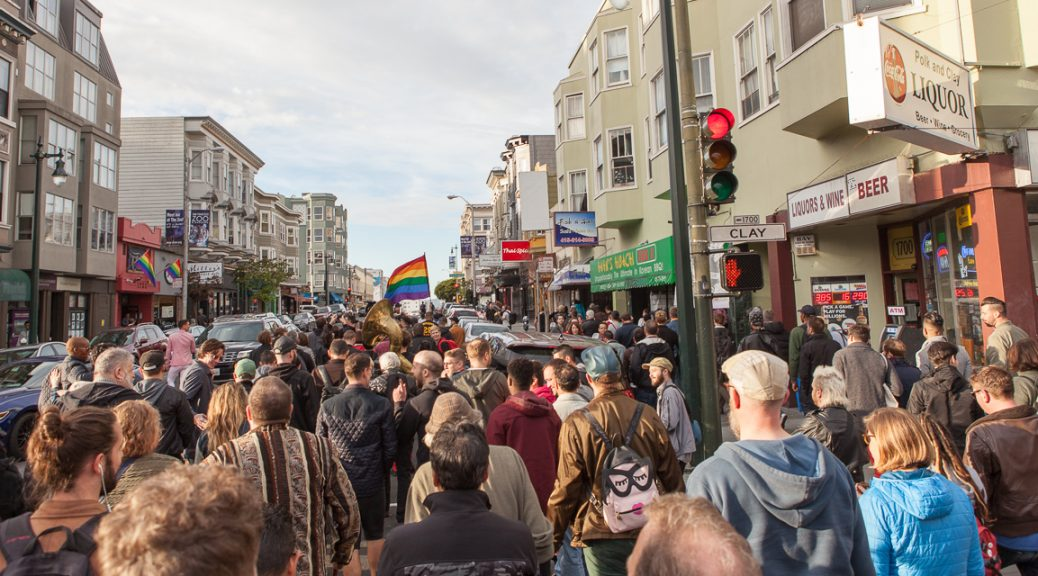March for queer space