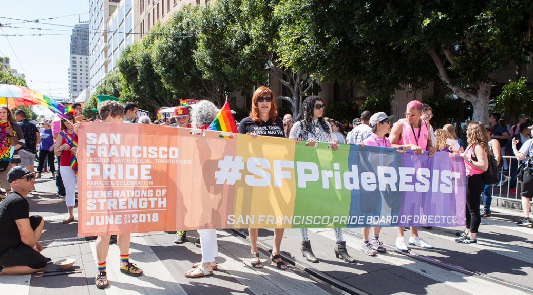 SF Pride resistance contingent