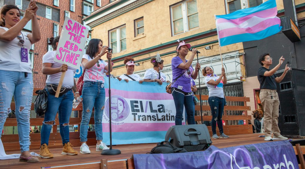 El/La Para TransLatinas at Trans March