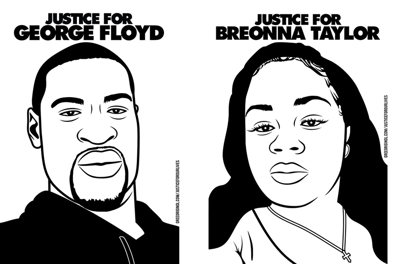 Justice for George Floyd, Justice for Breonna Taylor