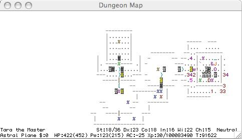 Winning Nethack game